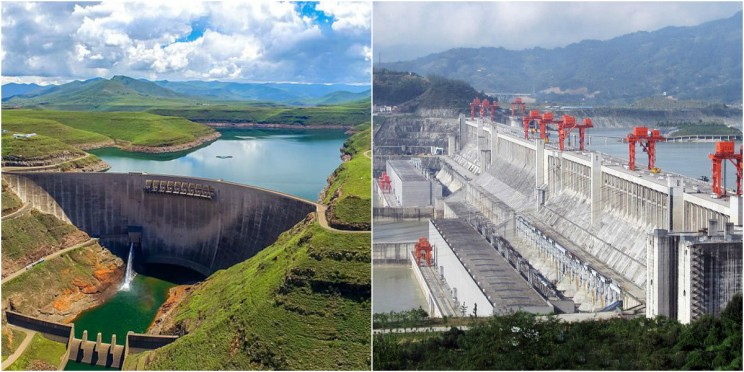 powerful dams in the world