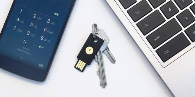 yubikey security physical keys