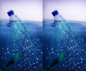 microplastics in water bottles