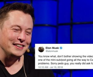 elon musk on unsworth diver