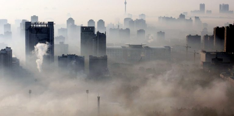 air polluted cities in the world