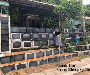 television fence in Vietnam