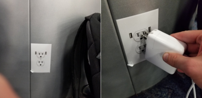 fake power outlet