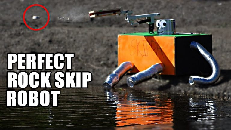 skippa rock skipping robot