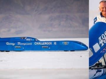 danny thompson speed record