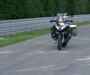 BMW riderless bike