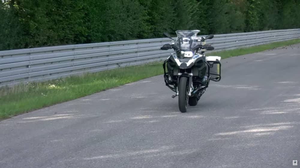 BMW riderless bike