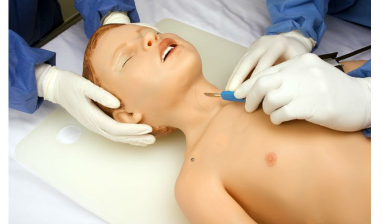 This Child Robot – HAL – Breathes, Cries, And Bleeds To Train Paediatricians