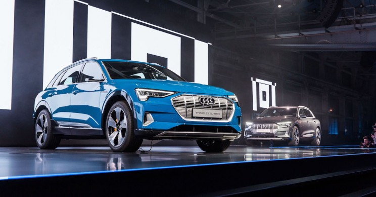 audi e-Tron electric car
