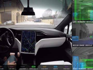 world through the eye of tesla autopilot system
