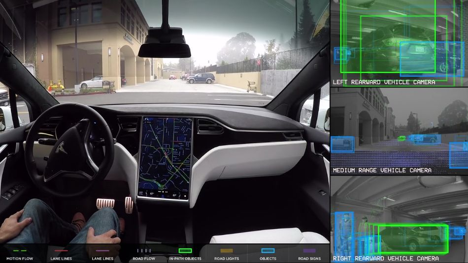world through the eye of tesla autopilot system
