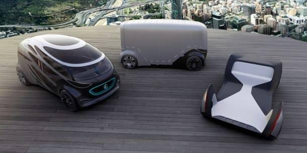 Mercedes-Benz concept van