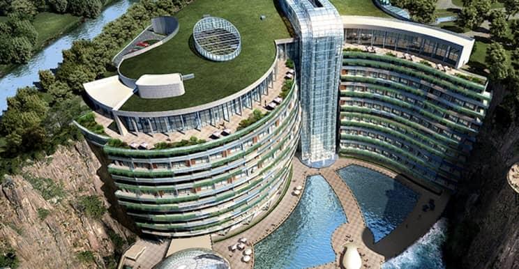 world's first underground hotel in Shanghai