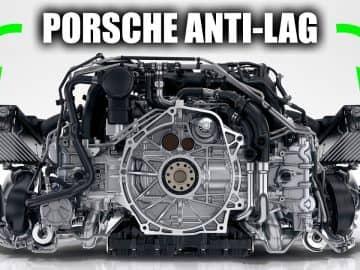 Porsche anti lag engine