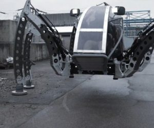 mantis robot six legged