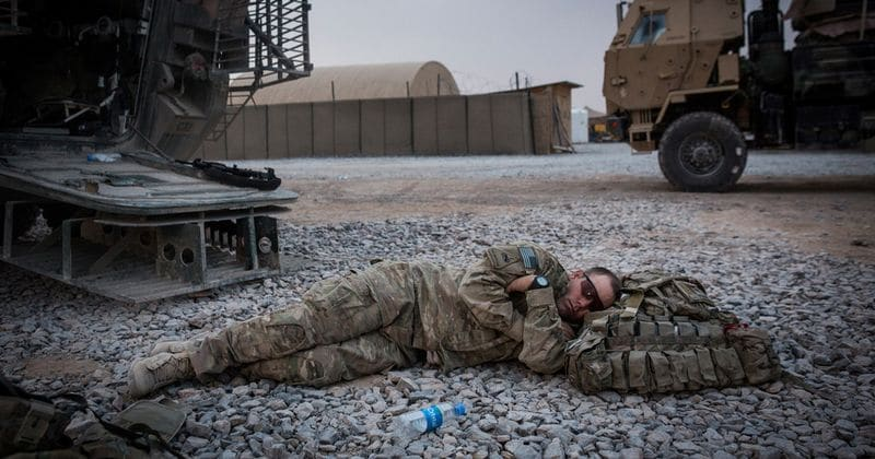 US military method to get sleep quickly