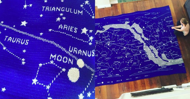 knitting space constellations