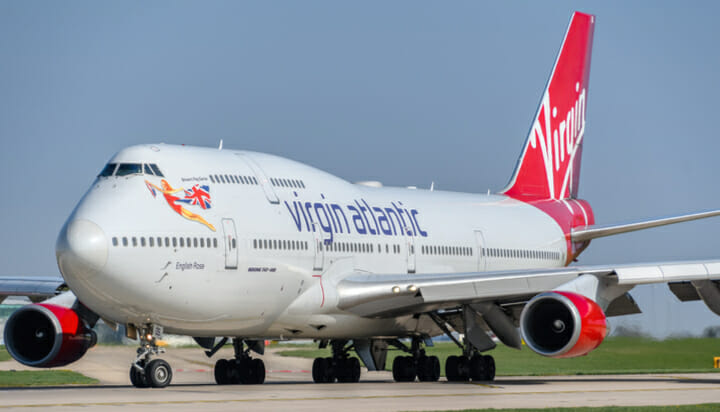 Virgin Atlantic using recycled fuel