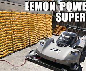 volkswagen lemon powered supercharge car