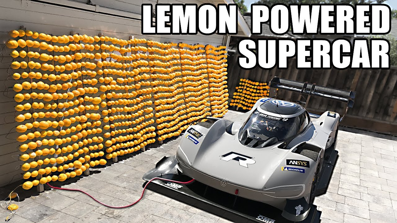 volkswagen lemon powered supercharge car