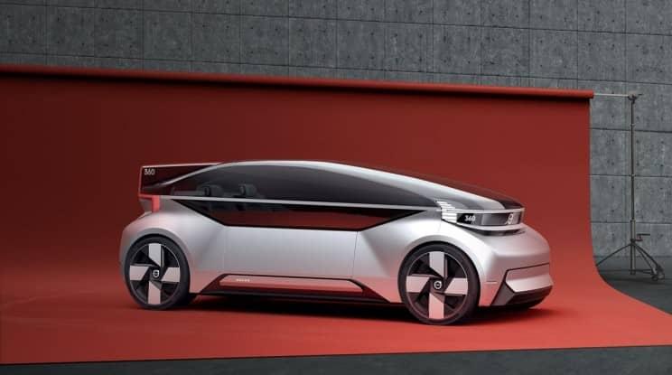 volvo 360c concept car