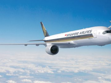 world's longest non stop flight by singapore airlines