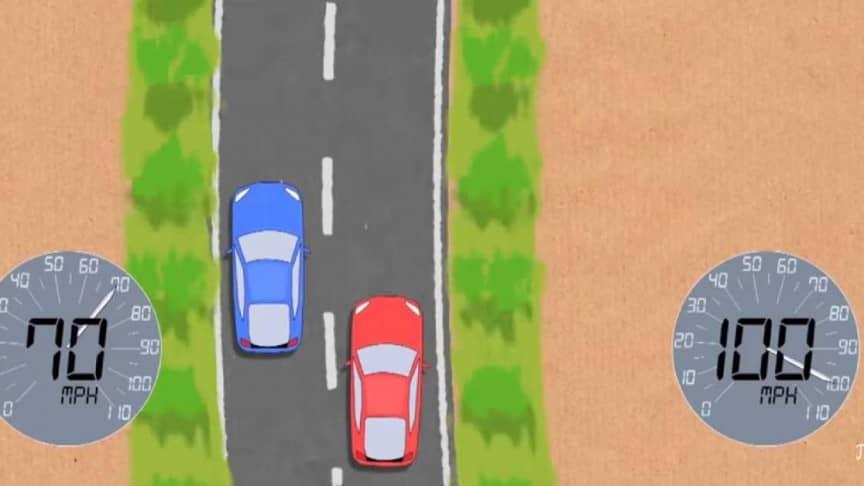 car crash mathematical calculations