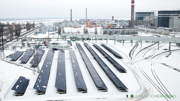 Chernobyl Re-emerges As A New Solar-powered Power Plant