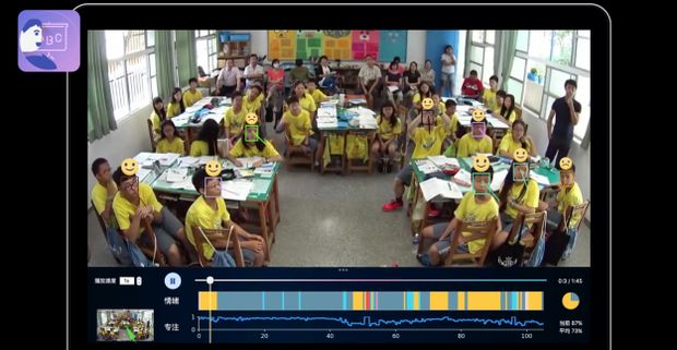 china using facial recognition in classrooms