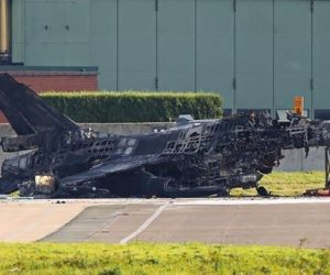 belgian f-16 destroyed by another f-16