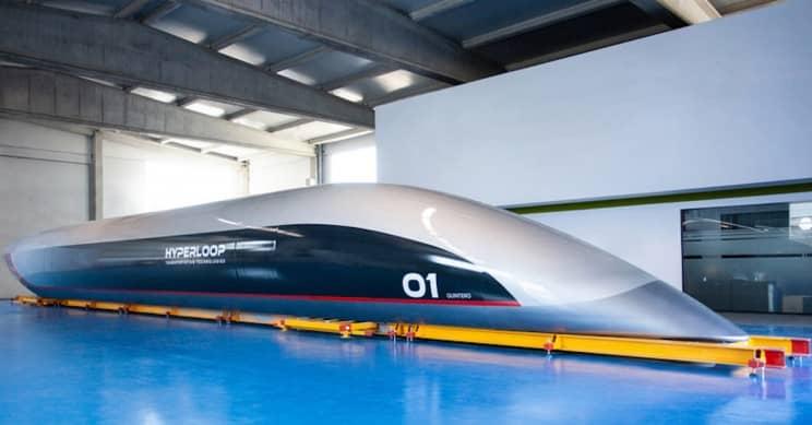 hyperloopTT unveiled