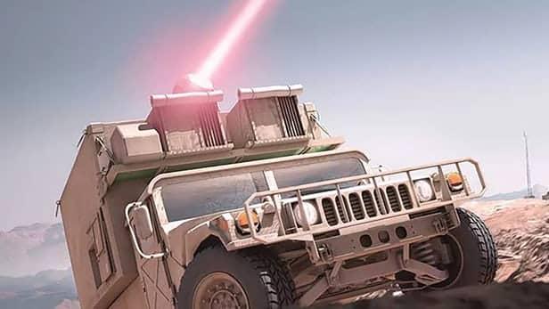 laser weapon