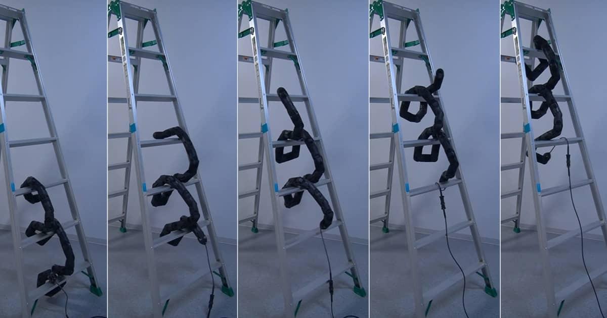 robot snake climbing ladder