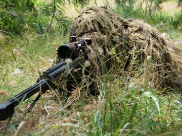 ghillie sniper suit