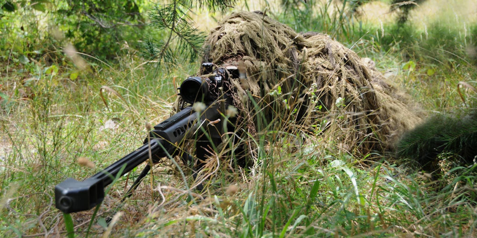 ghillie sniper suit