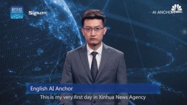 AI anchor in China