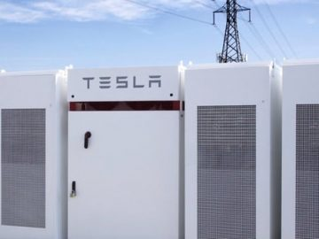 battery system in California