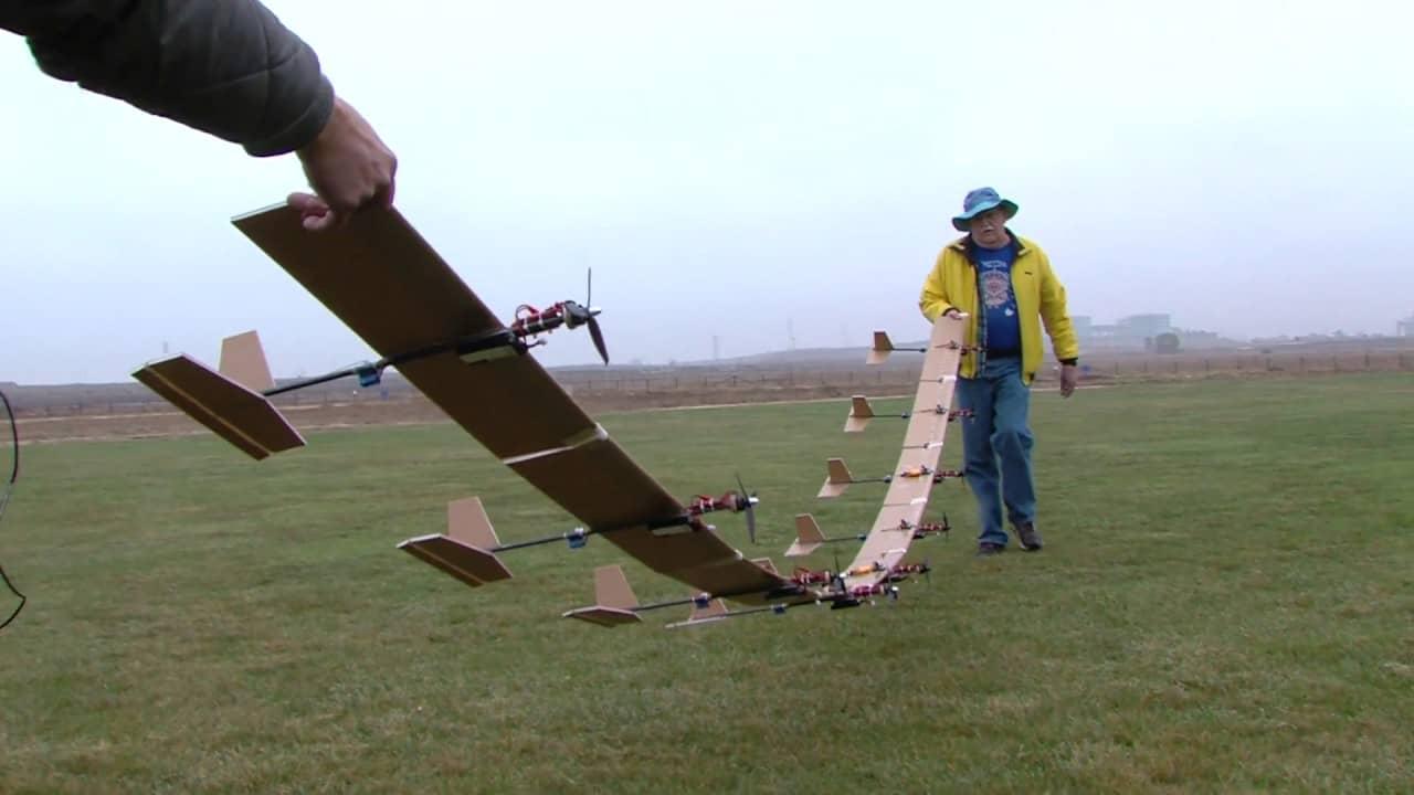 flex-plane drone