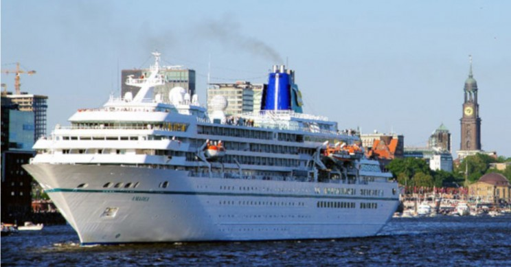 dead fish as fuel in the cruise ships