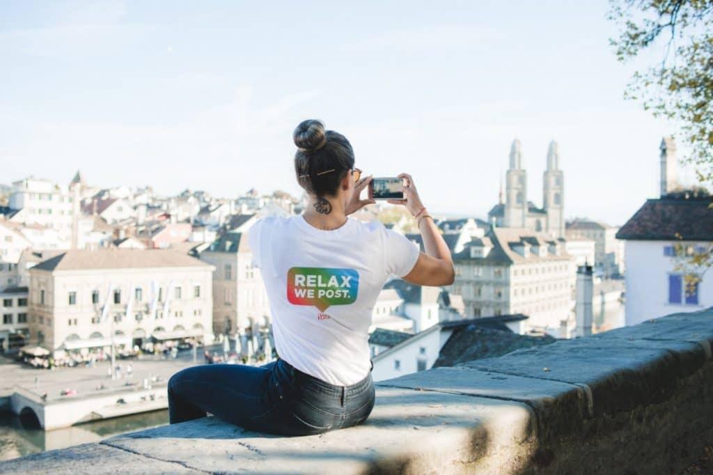 relax we post instagram sitters in Ibis hotels Zurich Geneva