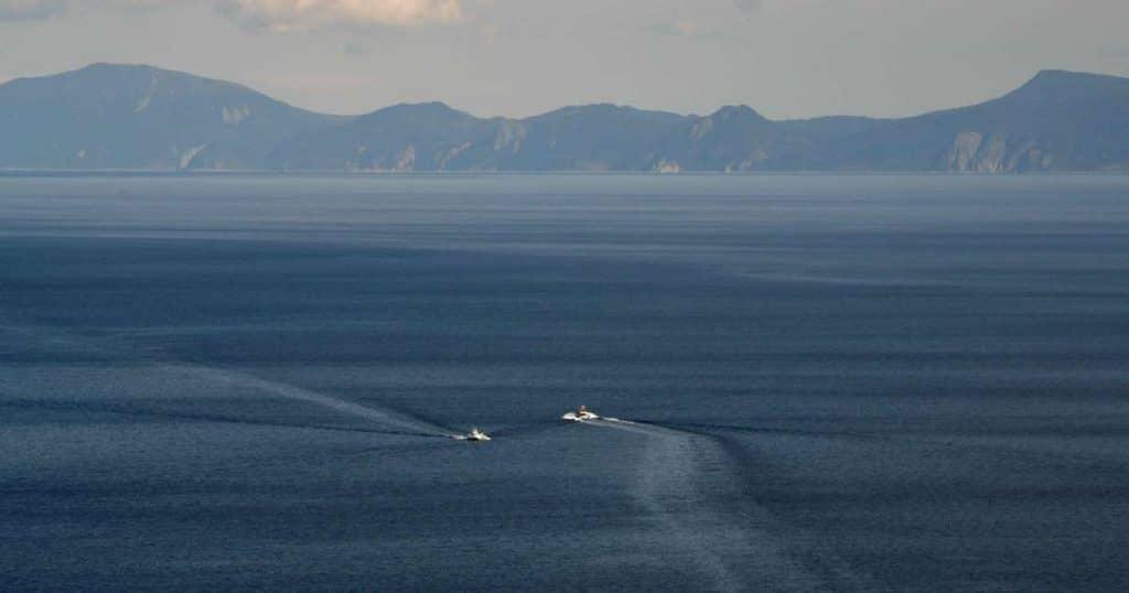 japan island is missing