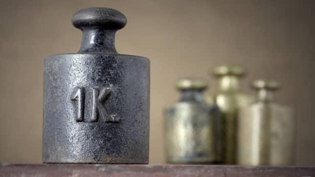 the value of kilogram