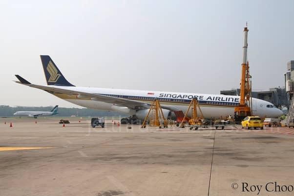 plane raise wheel while standing