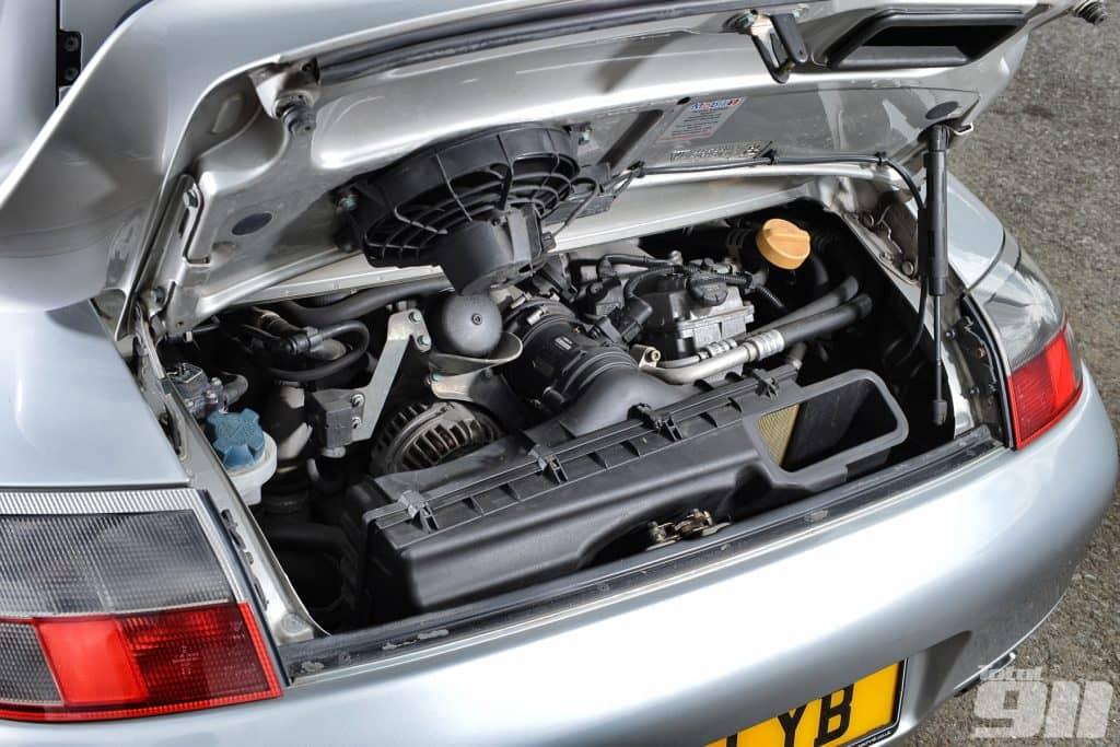Porsche engine system