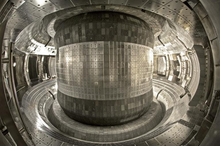 nuclear reactor EAST in China fusion reaction