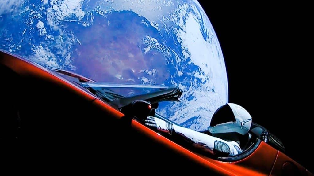 starman and roadster crossed mars