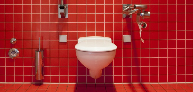 what happens if all toilets are flushed at the same time