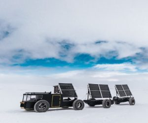 3D-printed solar-powered vehicle