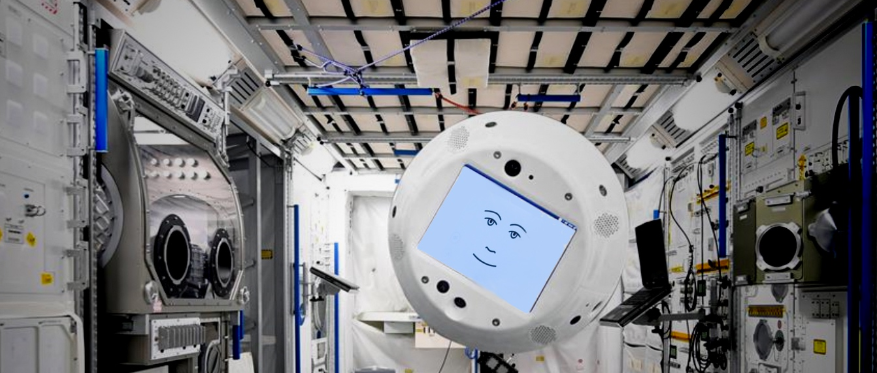 cimon and gerst robot conversed at ISS