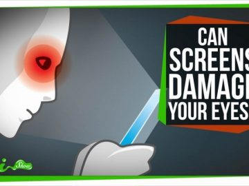 how blue screen time affects your eyes